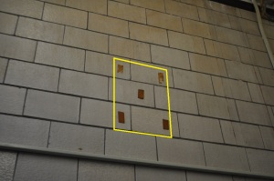 Up Academy/Patrick Gavin School-Interior Fallout Shelter sign outline