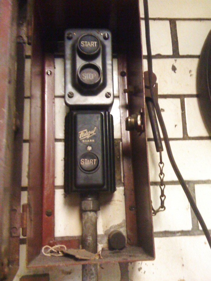E51 Air Raid Siren Controls