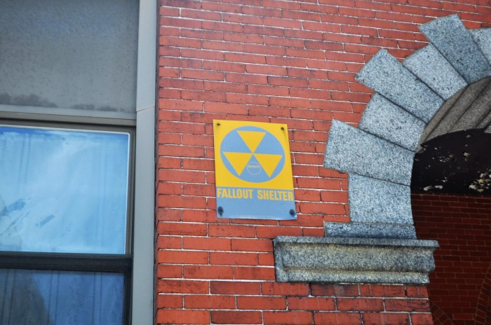 Fallout Shelter-Former apartment building Pawtucket, RI