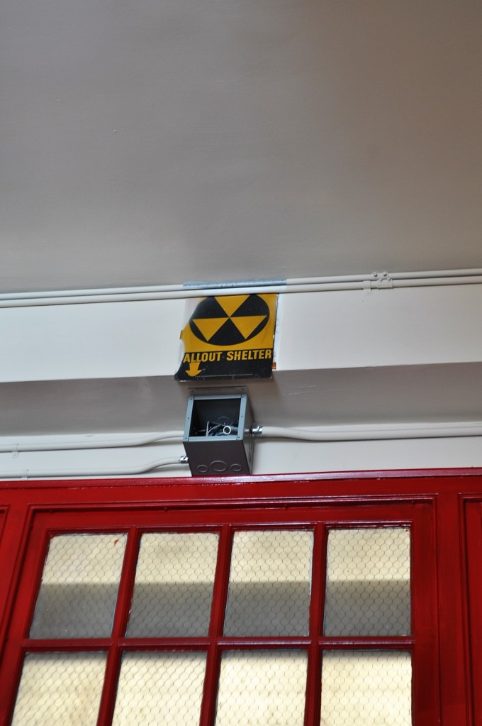 Fallout Shelter-William E. Tolman High School, Pawtucket, RI